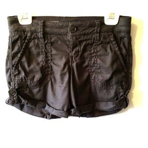 Anthropologie Level 99 Charcoal shorts